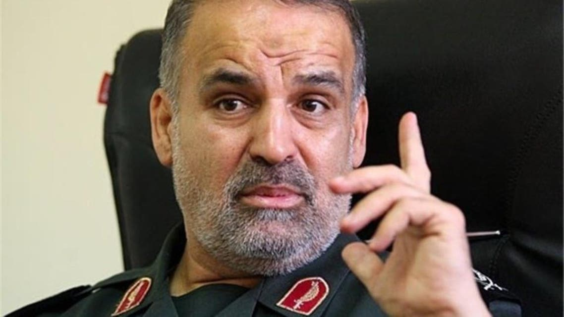 Nasser Shabani Revolutionary Guards. (Supplied)