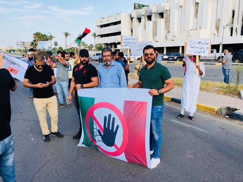 نشطاء في ليبيا يحتجون على سفير إيطاليا