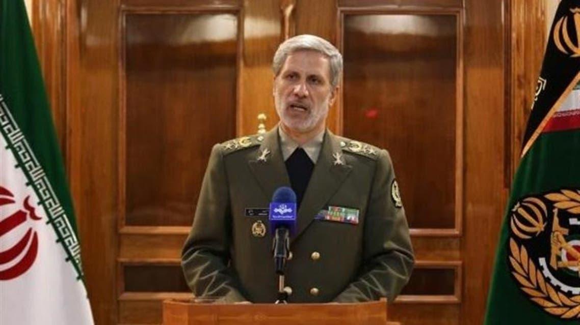 امیر سرتیپ امیر حاتمی وزیر دفاع و پشتیبانی نیروهای مسلح ایران