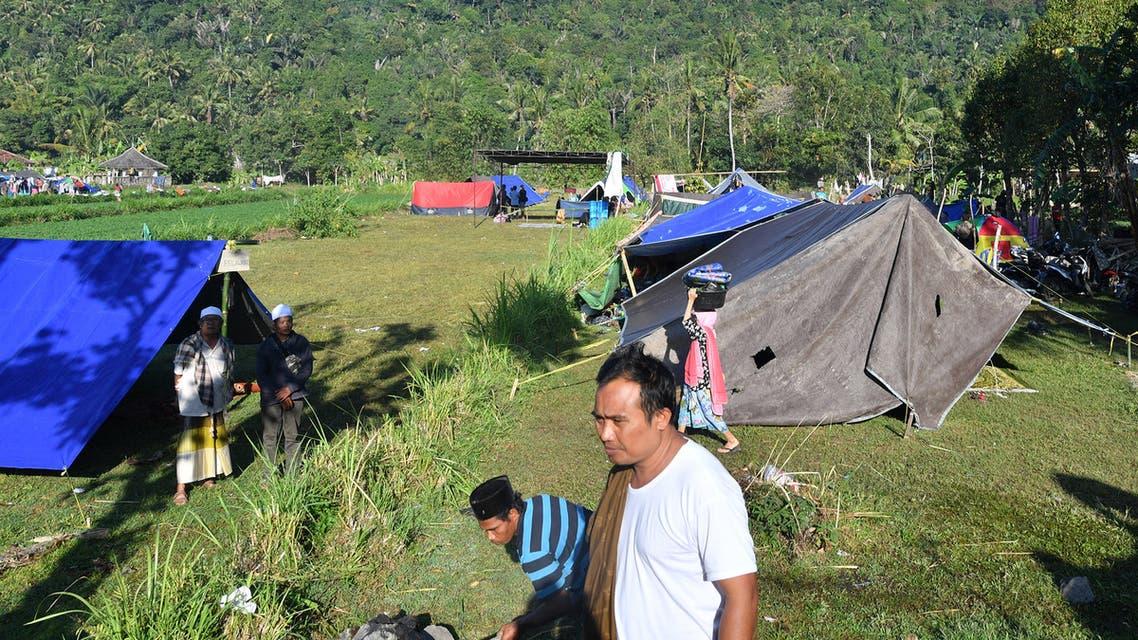 زلزال لومبوك الإندونيسية