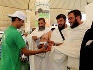 200 ألف عبوة ماء لحجاج الجو عبر مطار جدة الدولي