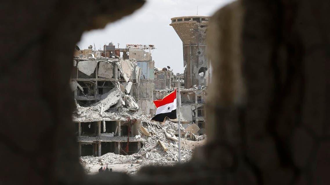 syria destruction (AFP)