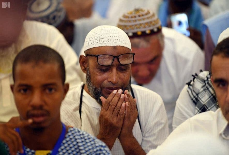 One million pilgrims have arrived from abroad to Saudi Arabia so far to take part in this Hajj season.