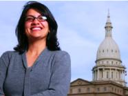 فلسطينية فازت بالترشح كأول مسلمة في الكونغرس الأميركي