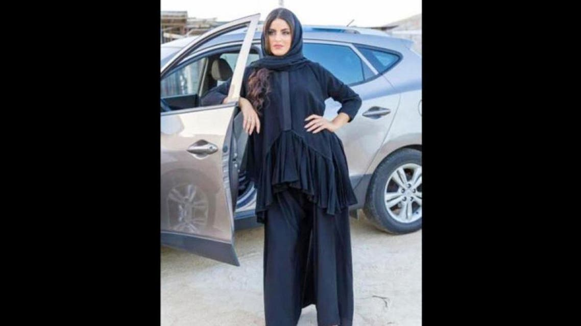 Abayas for driving have been produced in the Saudi market in a new way to present females' new lifestyle. (Photo courtesy: Saudi Gazette)
