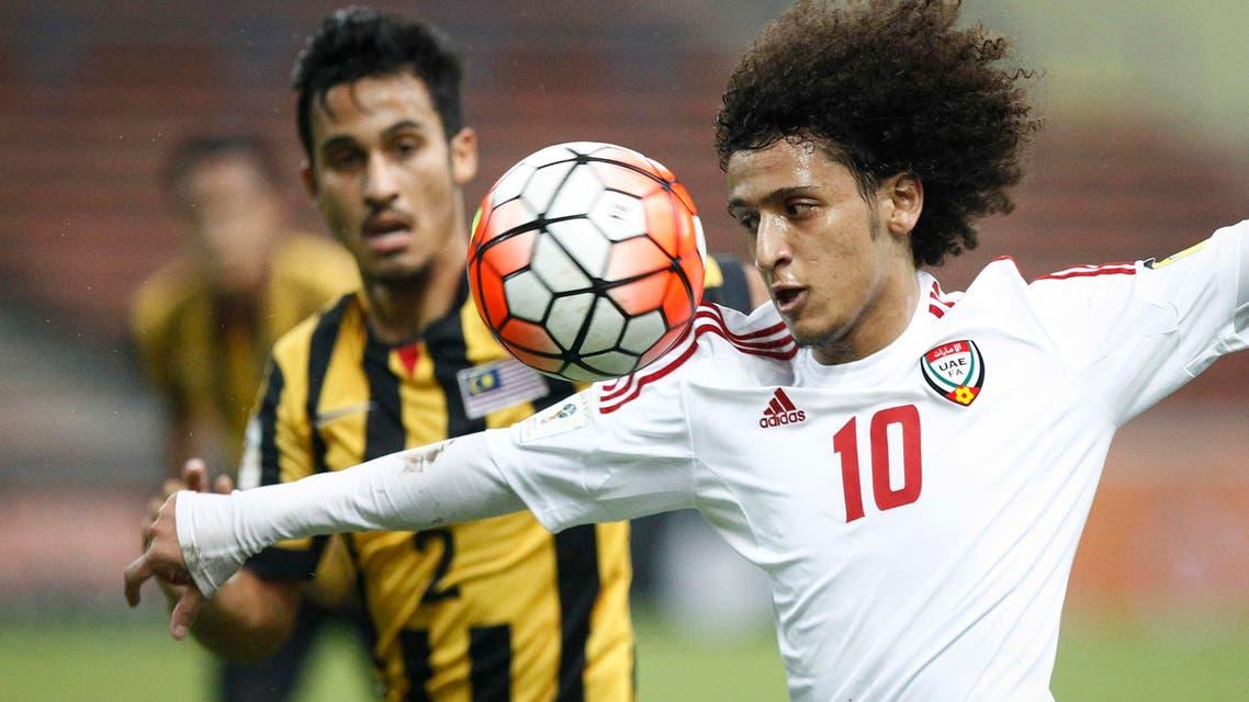 Omar Abdulrahman al Hilal football. (AP)