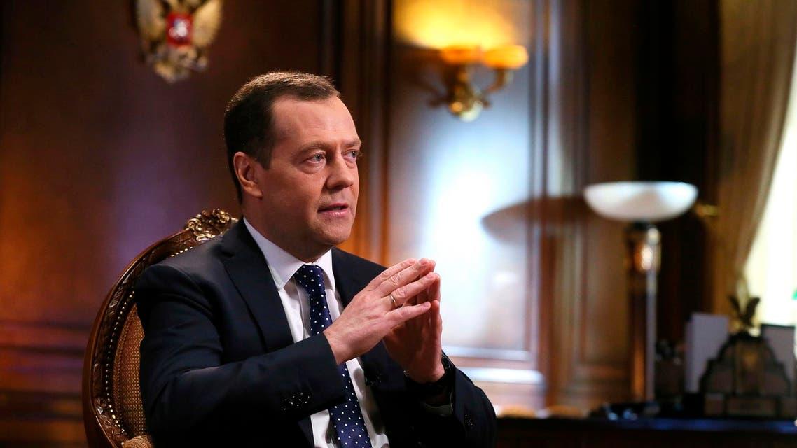 Russian Prime Minister Medvedev. (AP)