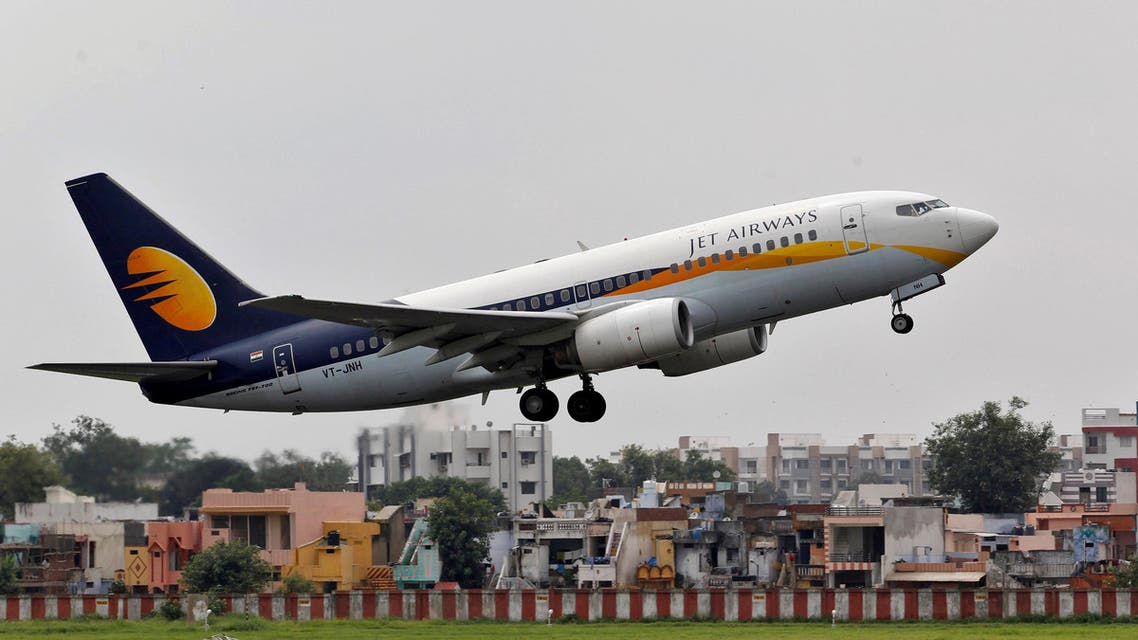 A Jet Airways passenger aircraft takes off from Ahmedabad airport on August 12, 2013. (Reuters)