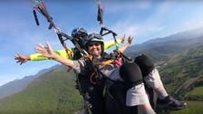 WATCH: A 93-year-old woman proves age is just a number, paraglides in Taiwan