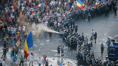 أعمال عنف في رومانيا.. الشرطة تتدخل والرئيس غاضب