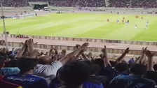 Chants of 'Arabian Gulf', 'Death to Dictator'  ring out in Iran football stadia