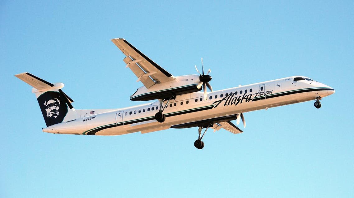 Video showed the Horizon Air Q400 doing large loops and other dangerous maneuvers as the sun set. (File photo: Supplied)
