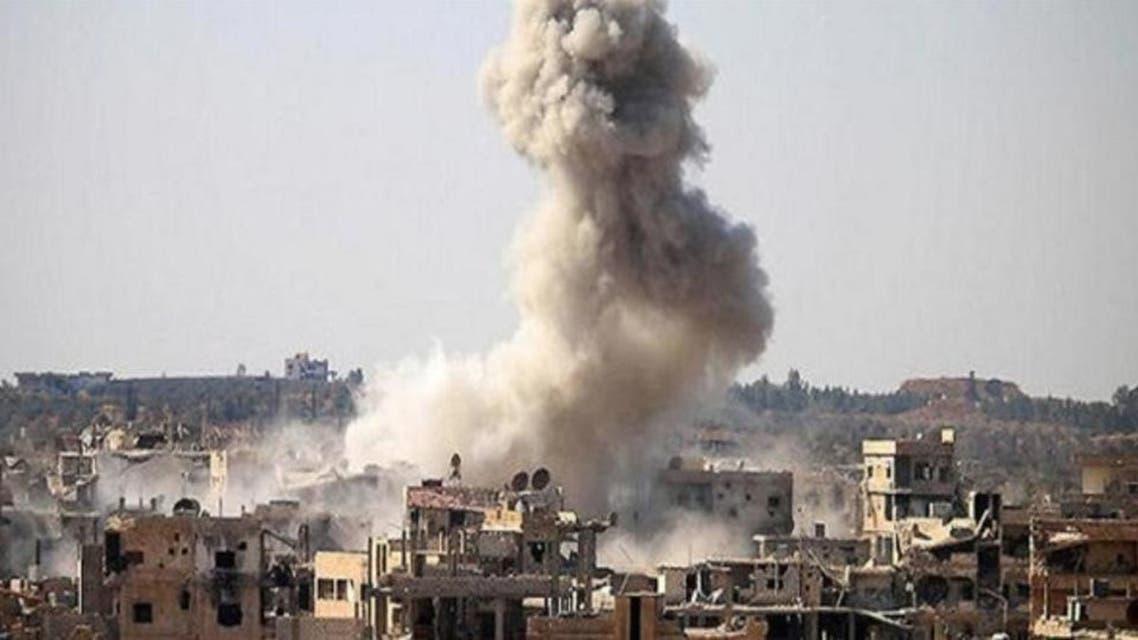غارة في سوريا