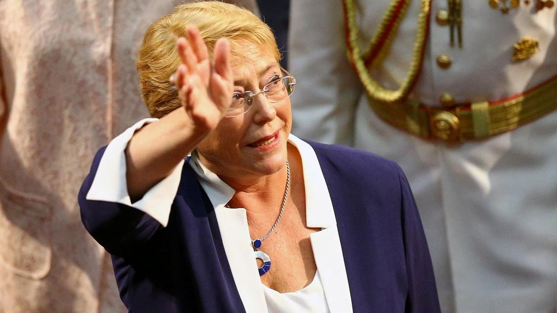 File photo of Chile's former President Michelle Bachelet. (Reuters)