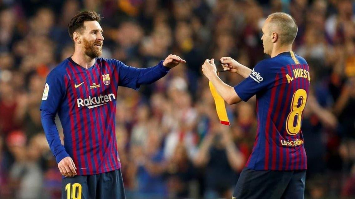 مسی پس از 14 سال کاپیتان بارسلونا شد