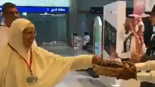 WATCH: Tunisian pilgrims get welcoming reception in Medina