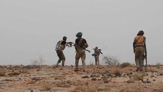 عناصر تابعة للجيش اليمني