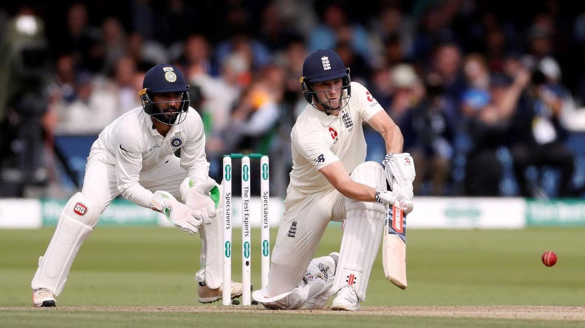 England's Chris Woakes in action  against India in the seond Test at Lord's, London, on August 11, 2018.  (Reuters)