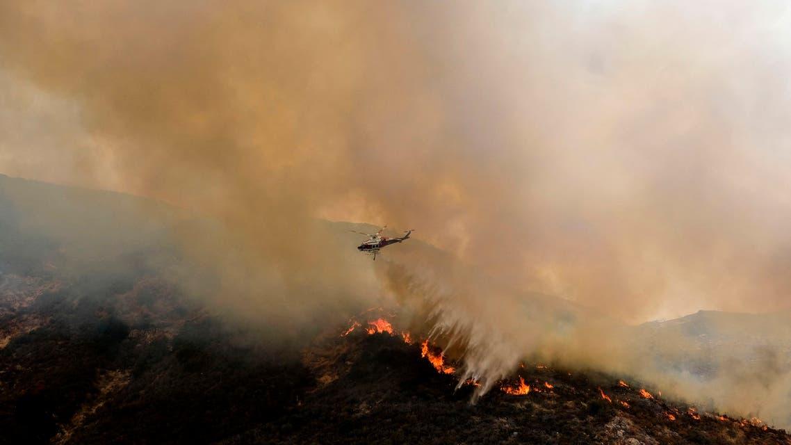 حرائق الغابات أميركا