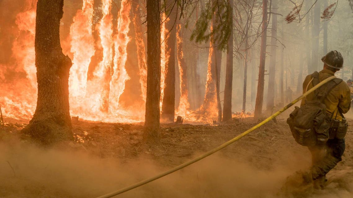 من حرائق كاليفورنيا يوم 6 أغسطس