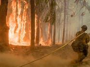الحرائق تلتهم 1.6 مليون فدان في الولايات المتحدة