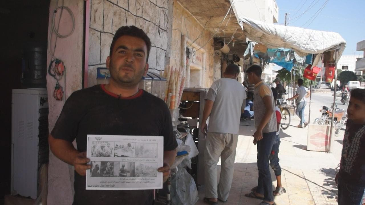 أهالي ريف إدلب غاضبون وغير مهتمين بمنشورات نظام الأسد