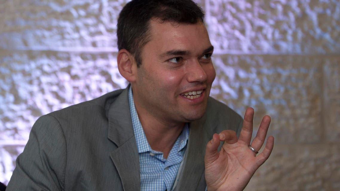 prominent Jewish-American commentator peter beinart. (AP)