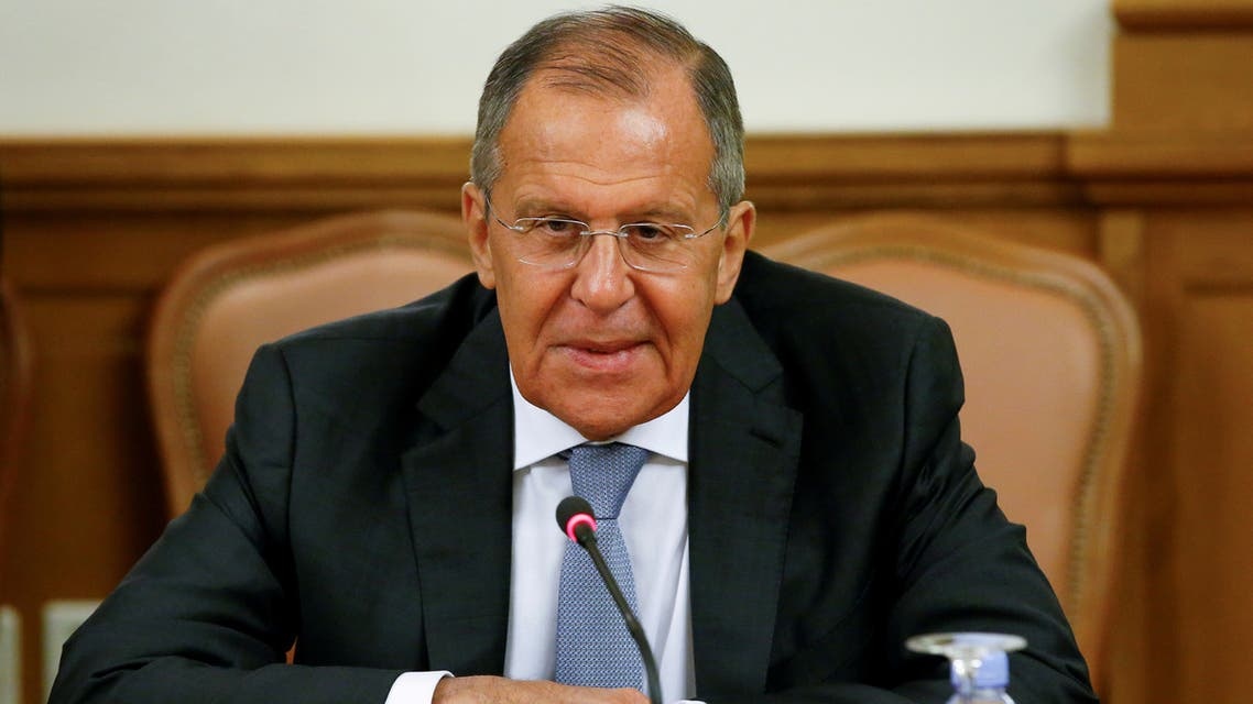 FILE PHOTO: Russian Foreign Minister Sergei Lavrov attends a meeting with his counterpart from Mozambique Jose Pacheco in Moscow, Russia May 28, 2018. REUTERS/Sergei Karpukhin/File Photo