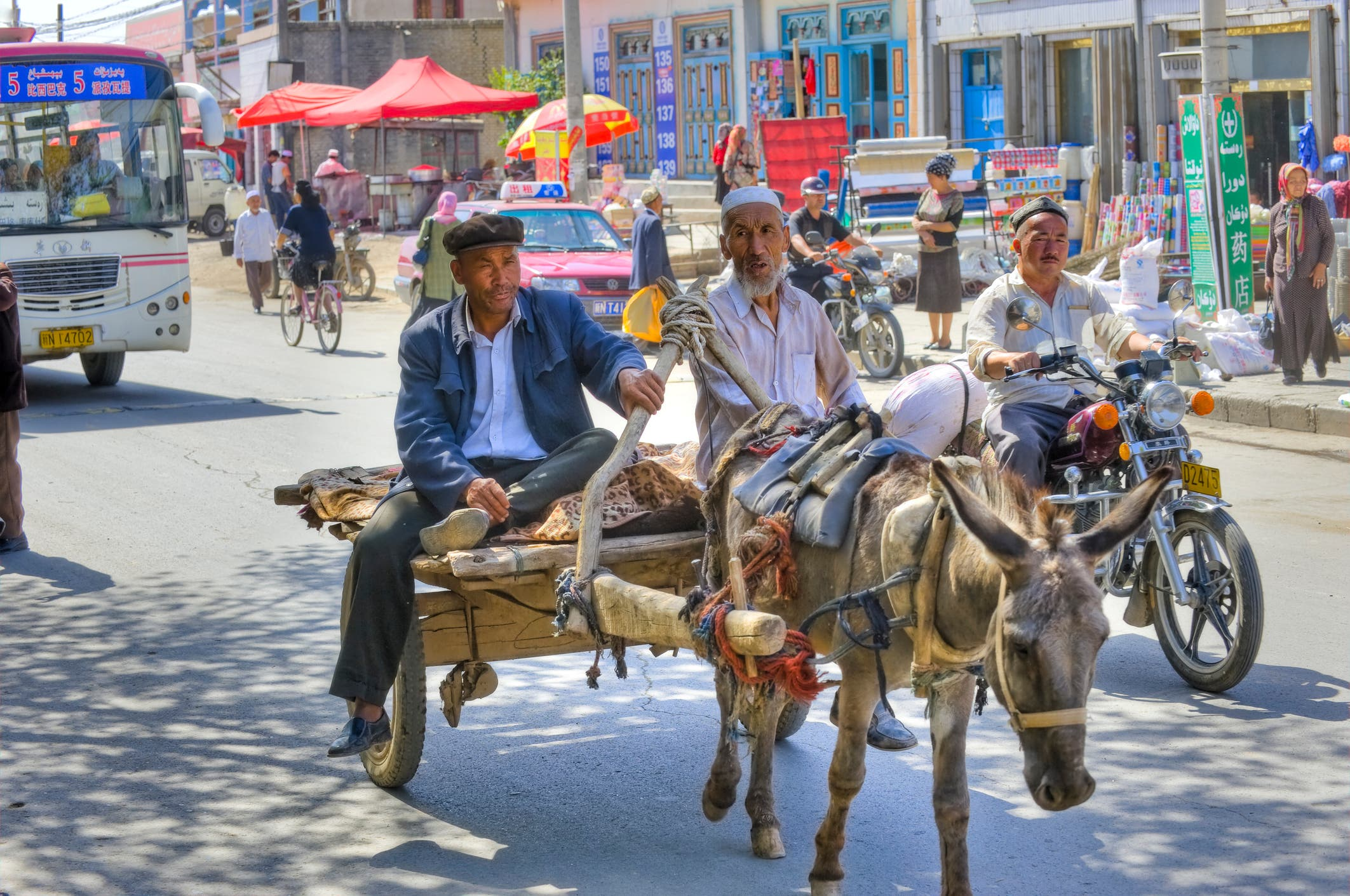 """من مسلمي الإيغور """"أرشيفية"""""""