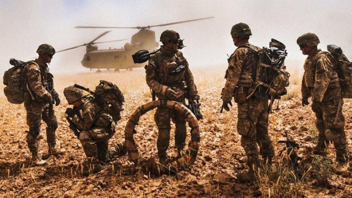یک سرباز امریکایی در افغانستان پس از زخم شدید جان باخت