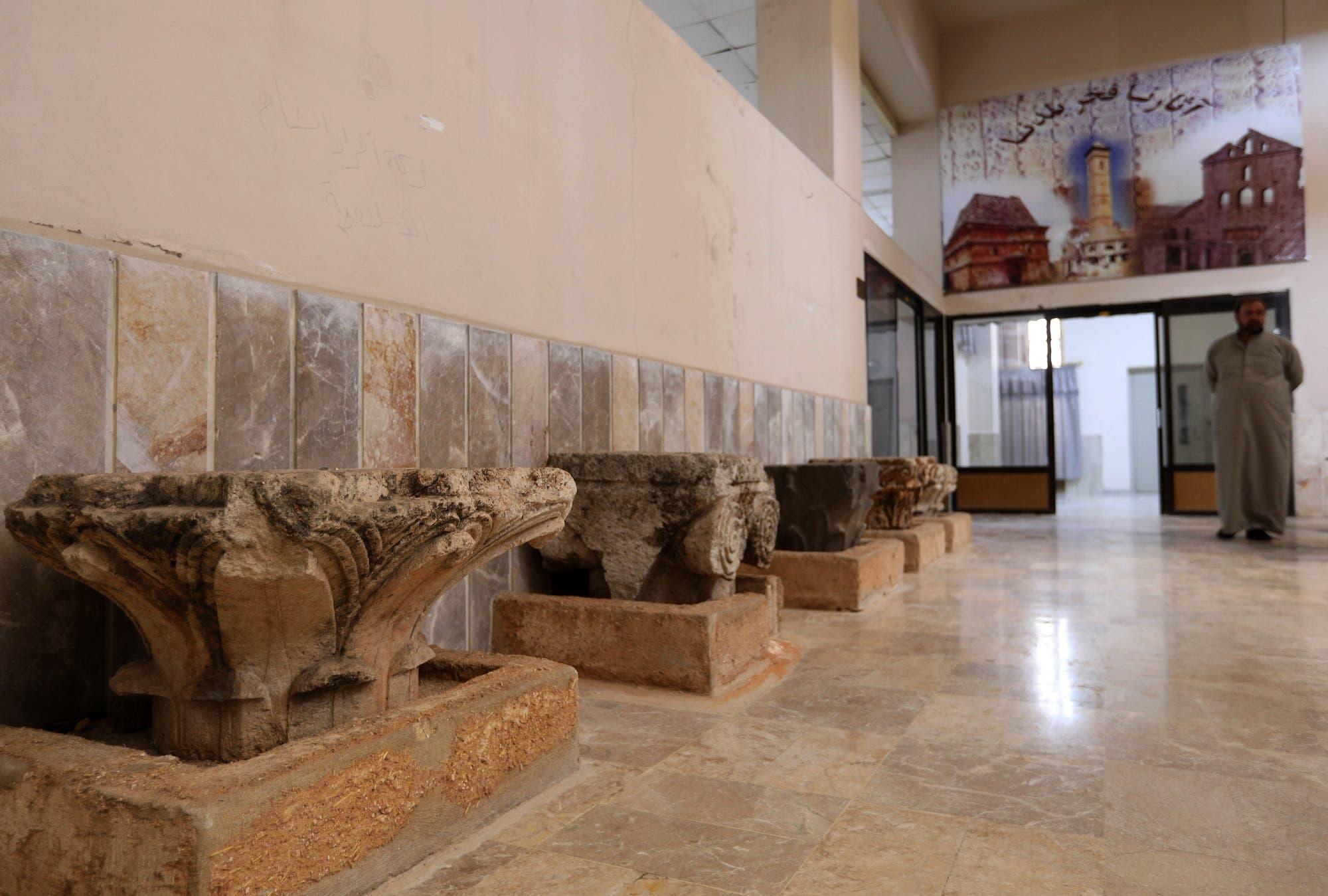 Syria idlib museum. (AFP)