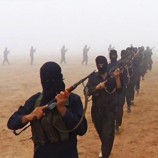 عناصر من داعش في العراق (أرشيفية)