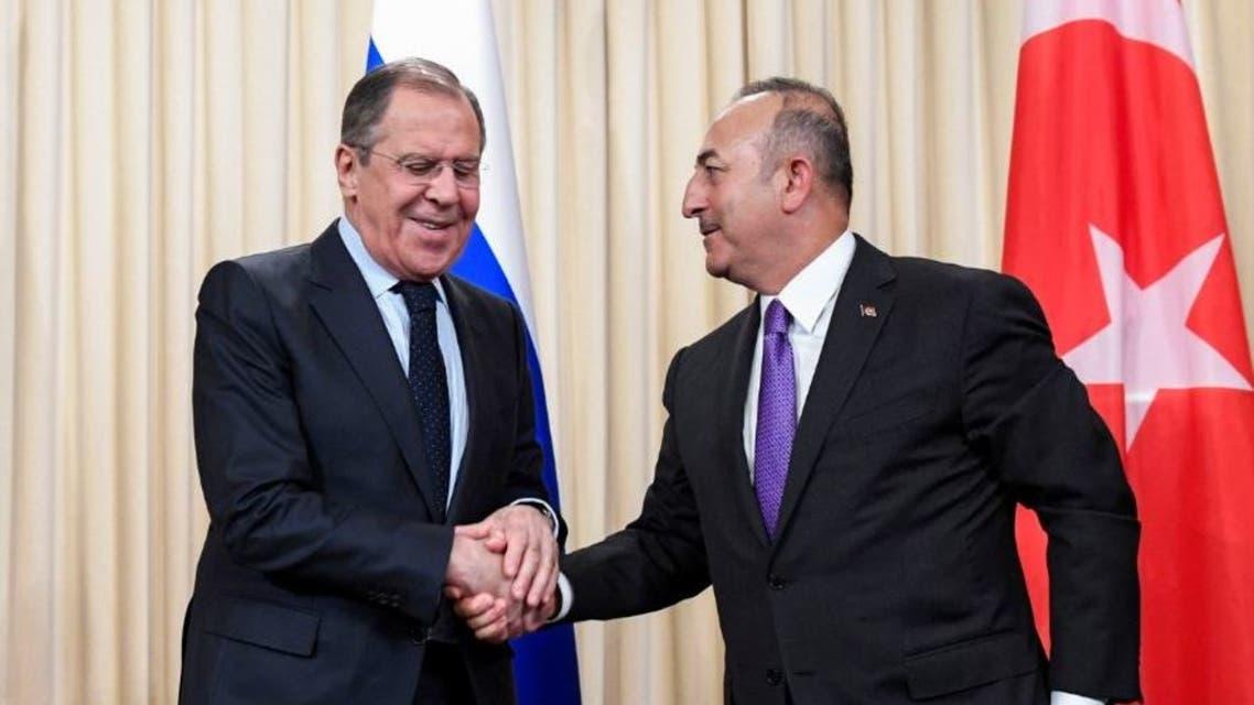 روسيا - تركيا - لافروف - تشاويش أوغلو