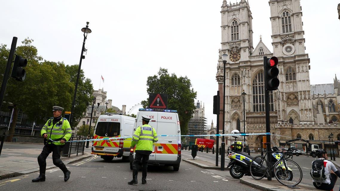 حادث الدهس أمام البرلمان البريطاني