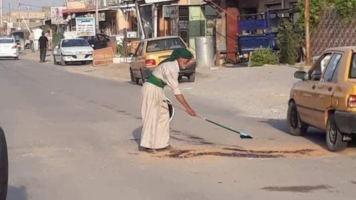 العراق.. هذا الستيني أنجز ما عجزت عن تنفيذه الحكومة