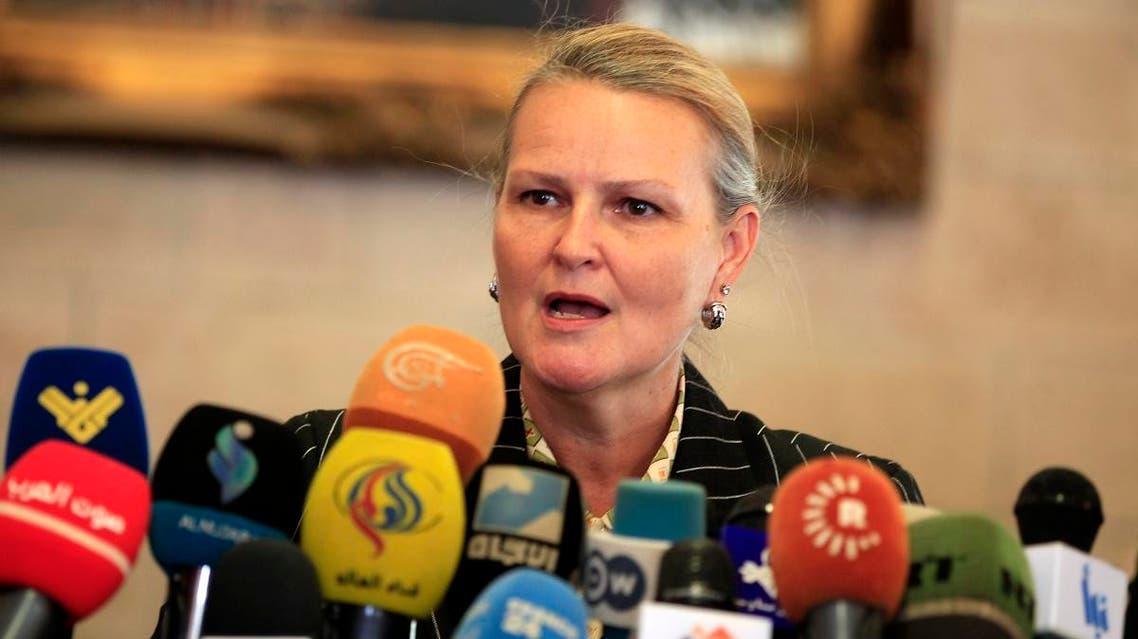 UN Lise Grande (AFP)