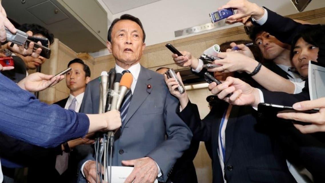 وزير المالية الياباني تارو آسو