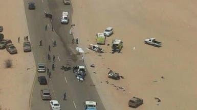 حادث مروع.. وفاة 7 من أسرة سعودية واحدة في عُمان