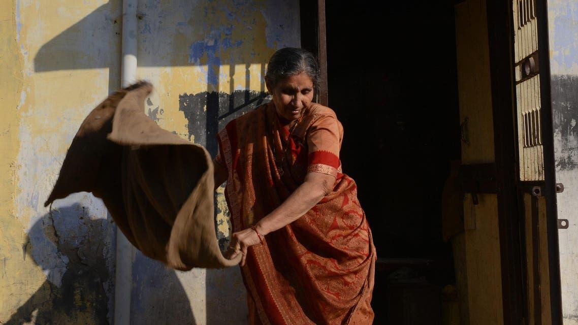 Jashodaben Modi wife. (AFP)