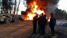 ليبيا.. انفجار خط أنابيب نفط إثر عمل تخريبي