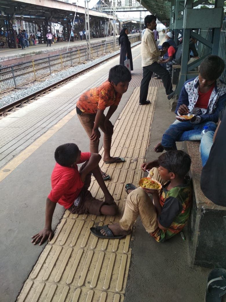 India begging. (Supplied)