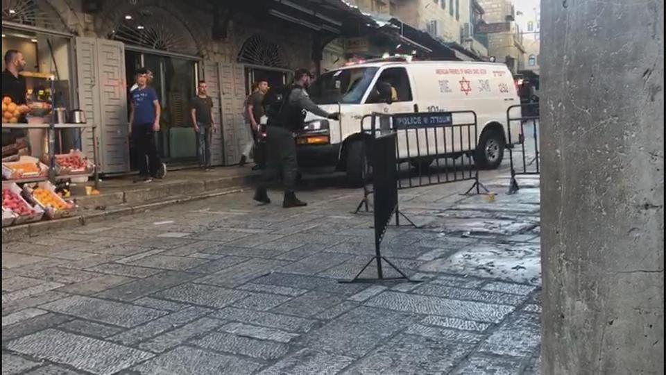 Occupied Jerusalem attack (Supplied)