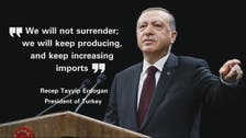 WATCH: Turkey's Erdogan hits back with retaliatory sanctions