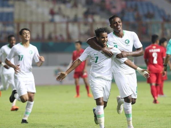"""بثلاثية.. الأخضر الأولمبي يتجاوز ميانمار في """"الآسيوية"""""""