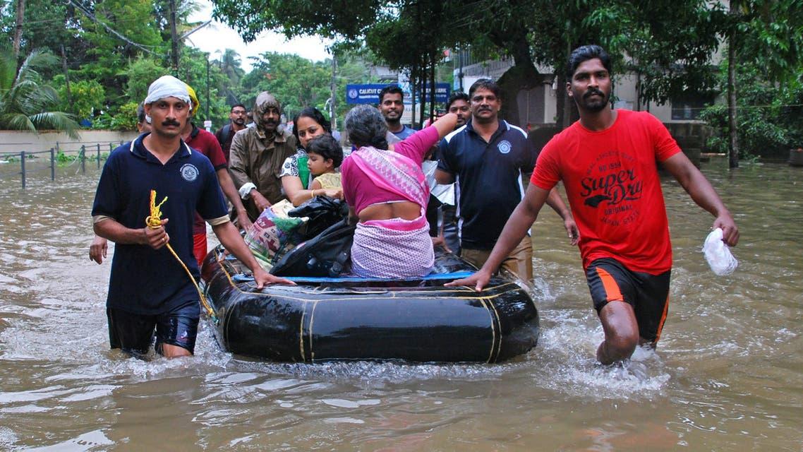 Kerala flood. (AP)a