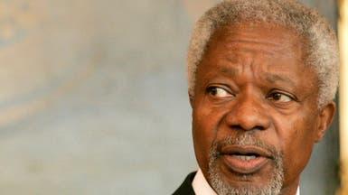 كوفي عنان سيدفن في غانا يوم 13 سبتمبر