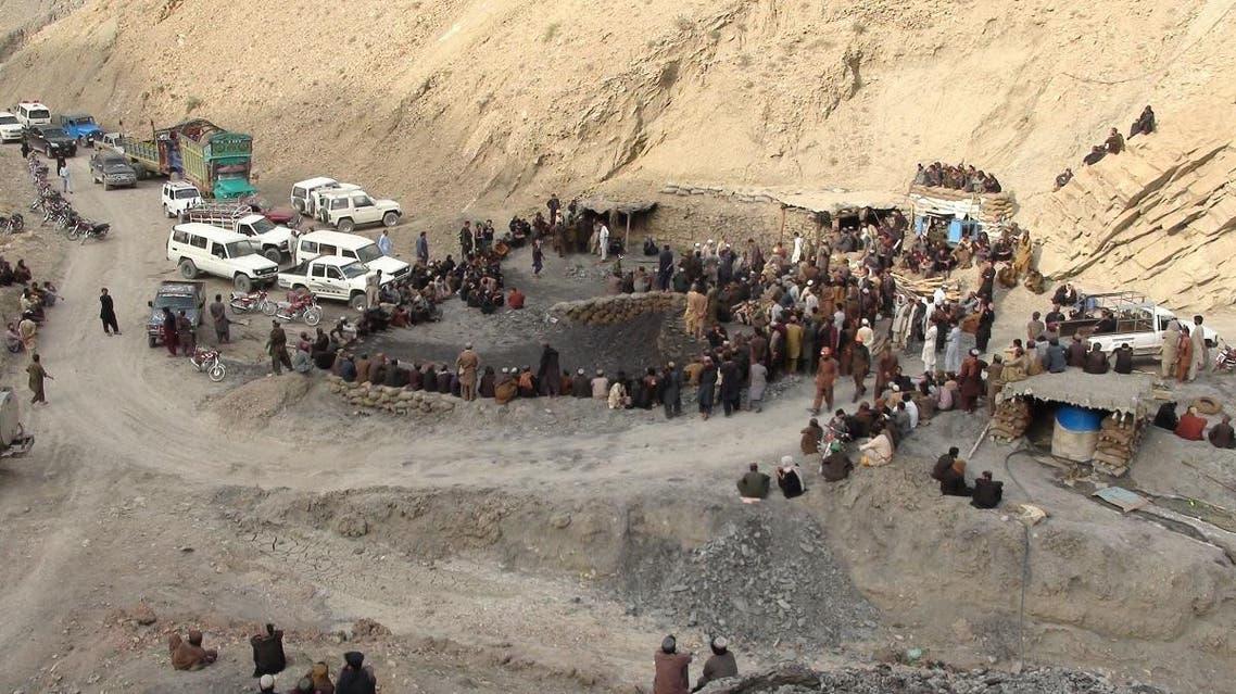 Pakistan coal mine (AFP)