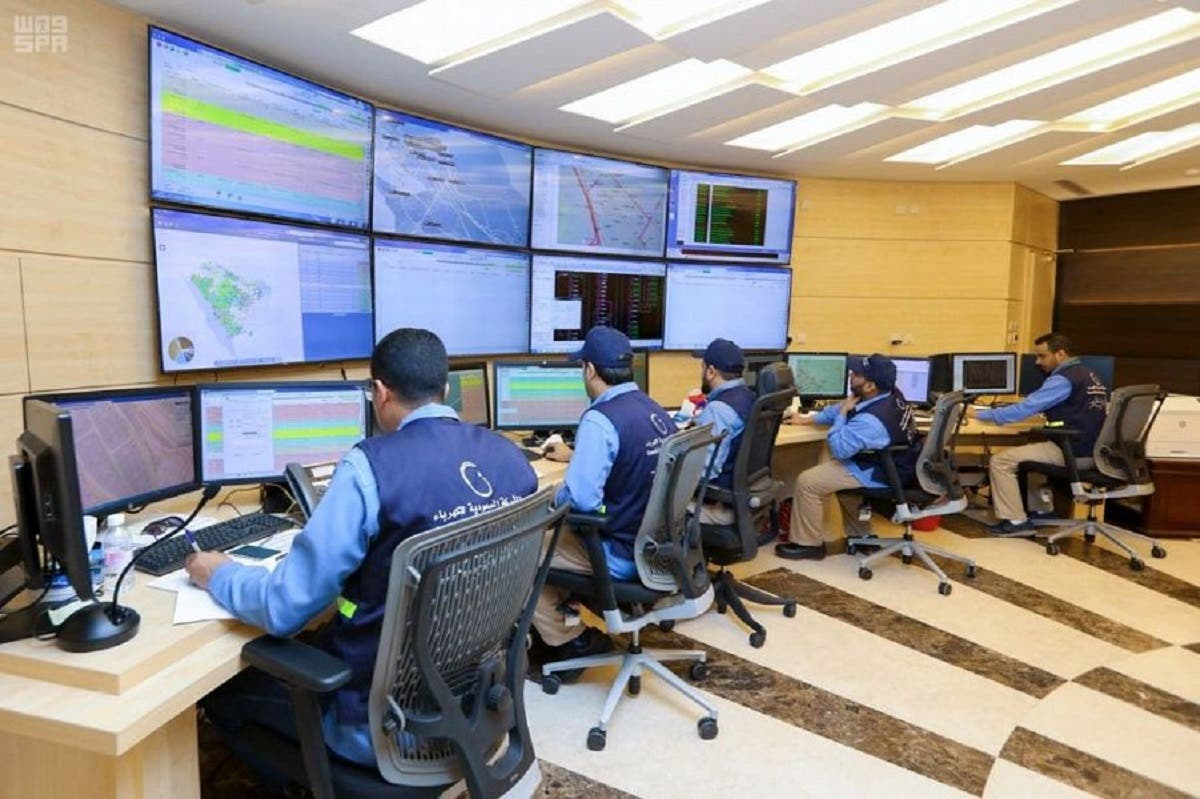 There is full supervision over operations and maintenance of the electrical network by the Saudi electricity company