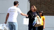 Saudi Sports Authority hands out gifts to London neighborhood near Loftus Road