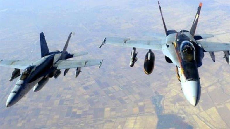 مقاتلات تابعة لتحالف دعم الشرعية في اليمن